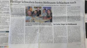 Bericht von die Rheinpfalz